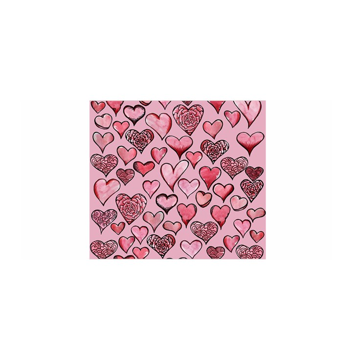Artistic Valentine Hearts Satin Wrap