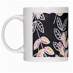 Winter Beautiful Foliage  White Mugs Left