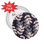 Winter Beautiful Foliage  2.25  Buttons (100 pack)  Front