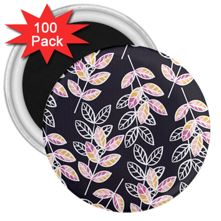 Winter Beautiful Foliage  3  Magnets (100 pack)