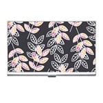 Winter Beautiful Foliage  Business Card Holders Front