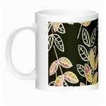 Winter Beautiful Foliage  Night Luminous Mugs Left