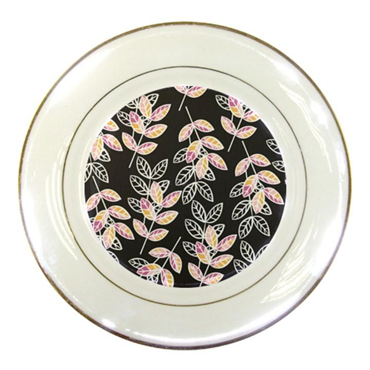 Winter Beautiful Foliage  Porcelain Plates