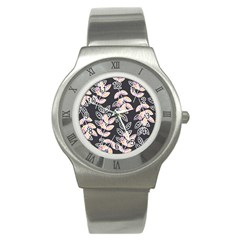 Winter Beautiful Foliage  Stainless Steel Watch