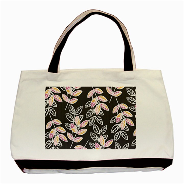 Winter Beautiful Foliage  Basic Tote Bag