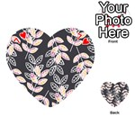 Winter Beautiful Foliage  Playing Cards 54 (Heart)  Front - Heart7