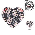 Winter Beautiful Foliage  Playing Cards 54 (Heart)  Front - Diamond3