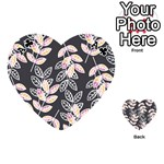 Winter Beautiful Foliage  Playing Cards 54 (Heart)  Front - ClubA