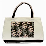 Winter Beautiful Foliage  Basic Tote Bag (Two Sides) Back