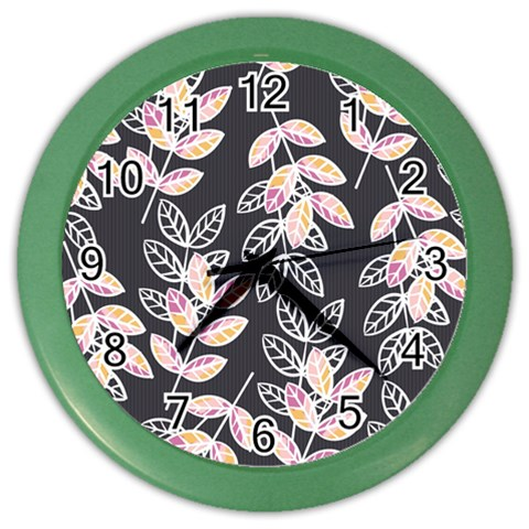 Winter Beautiful Foliage  Color Wall Clocks
