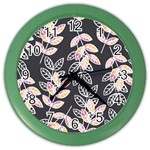 Winter Beautiful Foliage  Color Wall Clocks Front