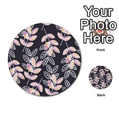 Winter Beautiful Foliage  Multi Purpose Cards (round)