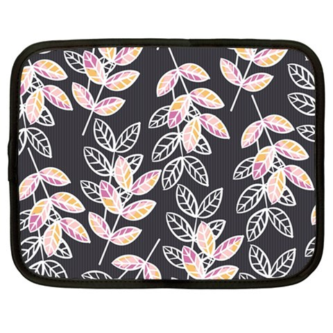 Winter Beautiful Foliage  Netbook Case (Large)