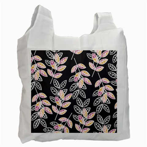 Winter Beautiful Foliage  Recycle Bag (One Side)