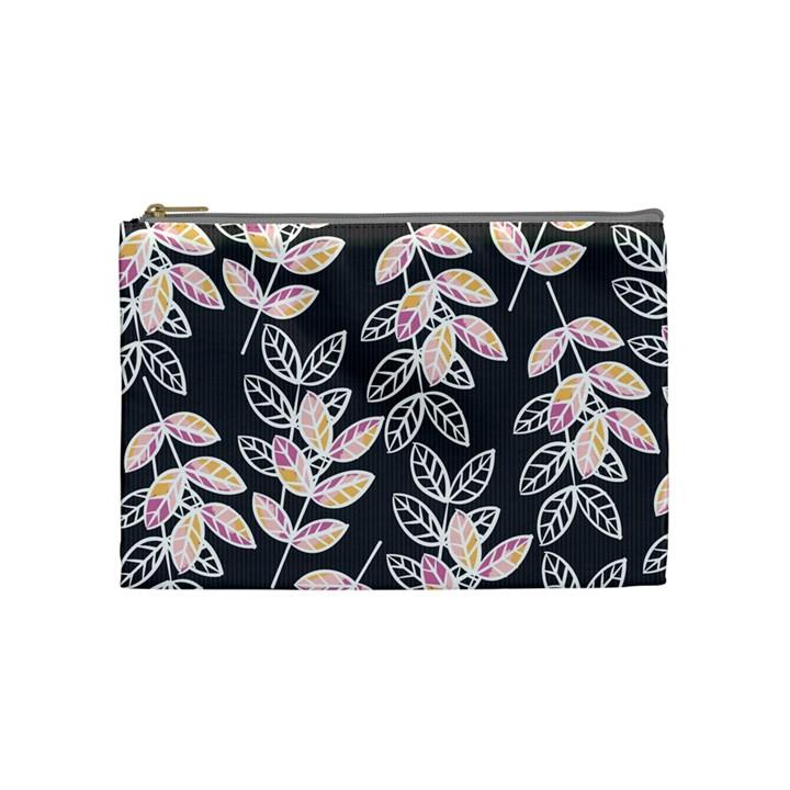 Winter Beautiful Foliage  Cosmetic Bag (Medium)