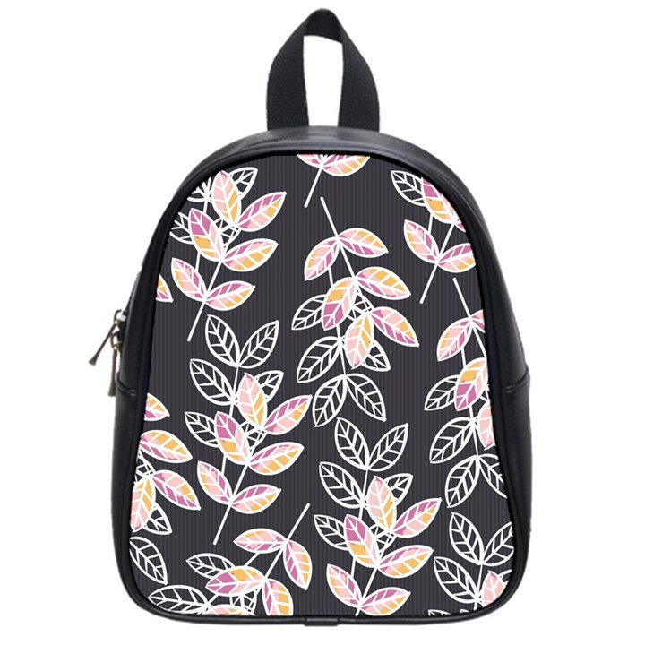 Winter Beautiful Foliage  School Bags (Small)