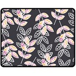 Winter Beautiful Foliage  Fleece Blanket (Medium)  60 x50 Blanket Front