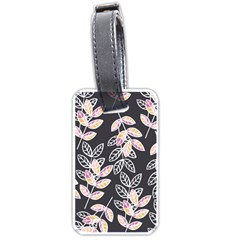 Winter Beautiful Foliage  Luggage Tags (One Side)