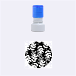 Winter Beautiful Foliage  Rubber Round Stamps (Small) 1.12 x1.12  Stamp