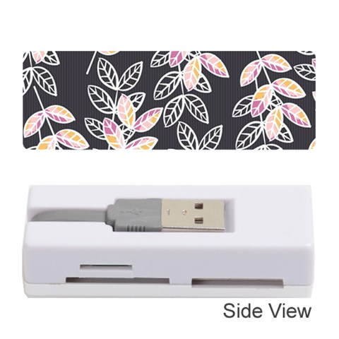 Winter Beautiful Foliage  Memory Card Reader (Stick)