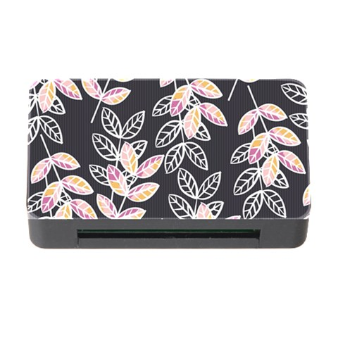Winter Beautiful Foliage  Memory Card Reader with CF