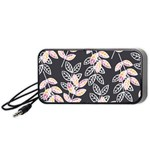 Winter Beautiful Foliage  Portable Speaker (Black)  Front