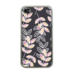 Winter Beautiful Foliage  Apple iPhone 4 Case (Clear)
