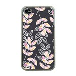 Winter Beautiful Foliage  Apple iPhone 4 Case (Clear) Front