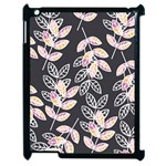 Winter Beautiful Foliage  Apple iPad 2 Case (Black) Front