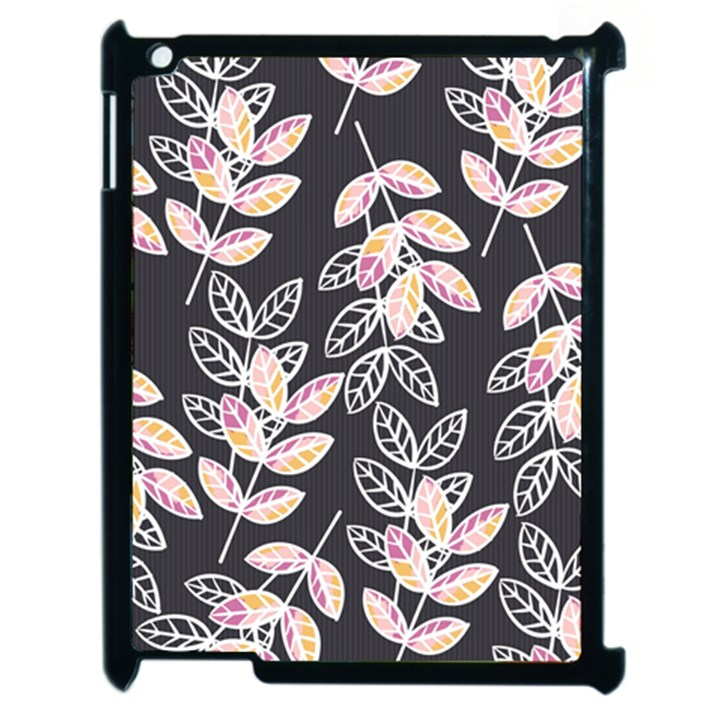 Winter Beautiful Foliage  Apple iPad 2 Case (Black)