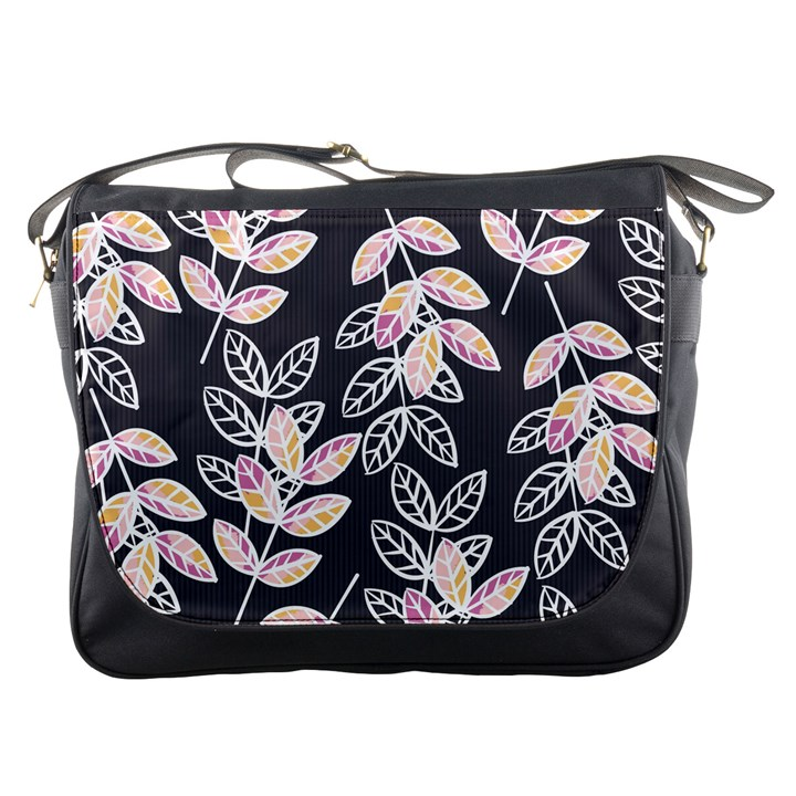 Winter Beautiful Foliage  Messenger Bags