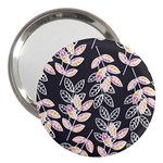 Winter Beautiful Foliage  3  Handbag Mirrors Front