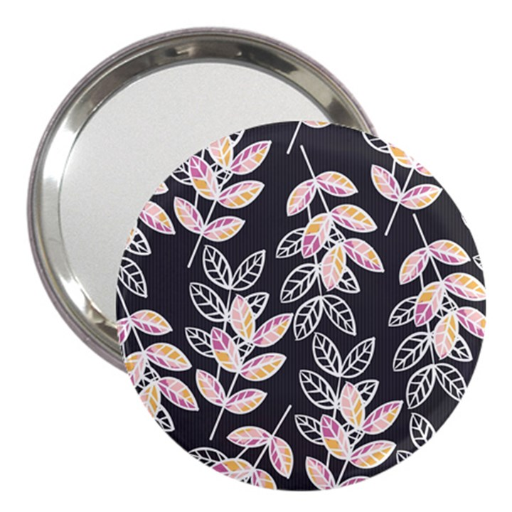 Winter Beautiful Foliage  3  Handbag Mirrors