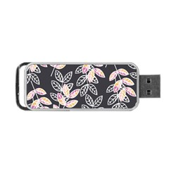 Winter Beautiful Foliage  Portable USB Flash (One Side)