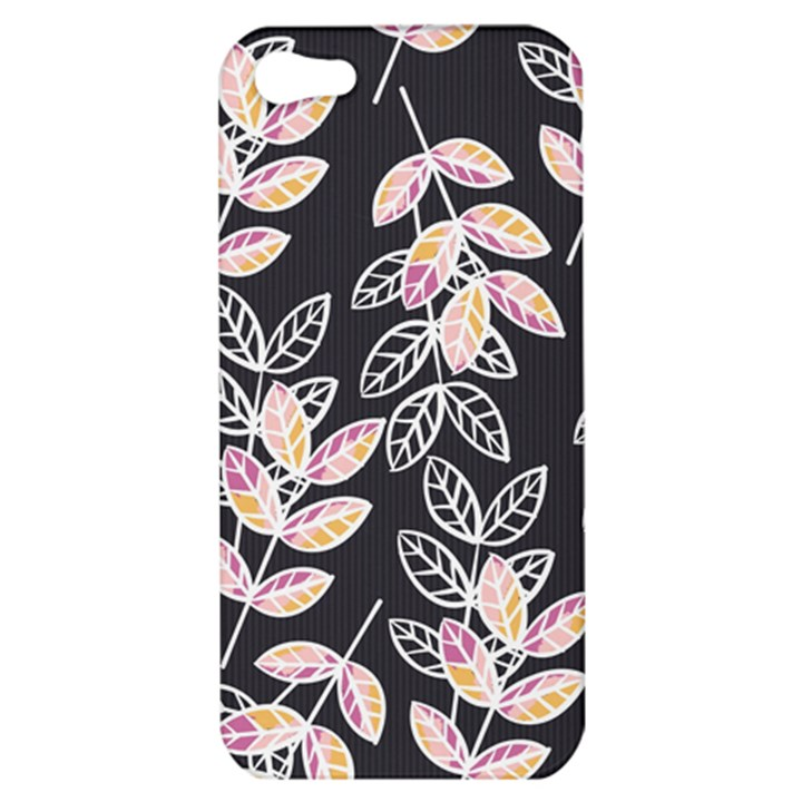 Winter Beautiful Foliage  Apple iPhone 5 Hardshell Case
