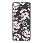 Winter Beautiful Foliage  Apple iPhone 5 Case (Silver) Front