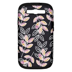 Winter Beautiful Foliage  Samsung Galaxy S Iii Hardshell Case (pc+silicone)