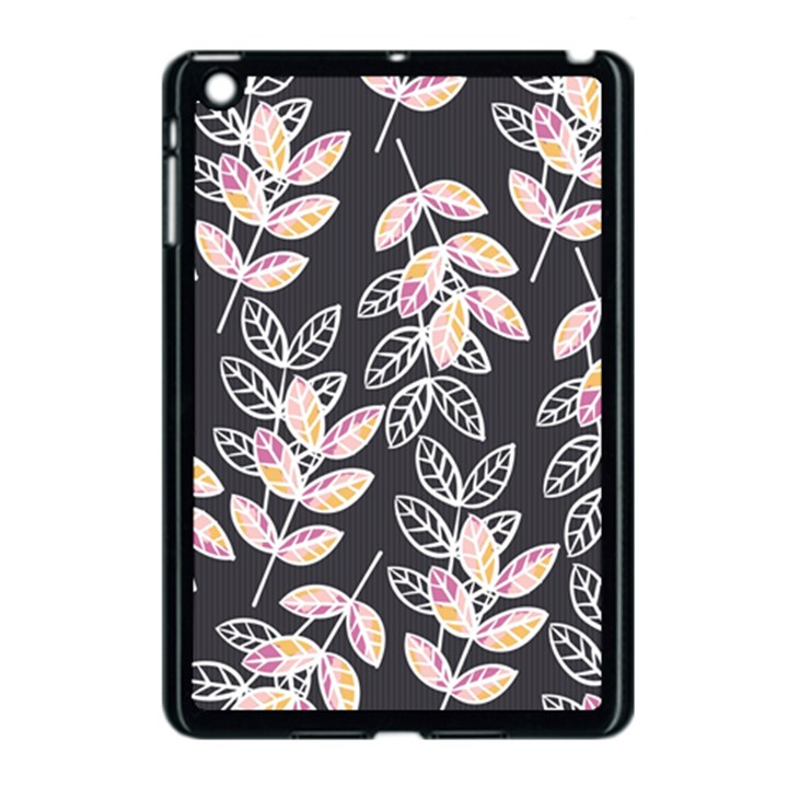 Winter Beautiful Foliage  Apple iPad Mini Case (Black)