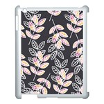 Winter Beautiful Foliage  Apple iPad 3/4 Case (White) Front
