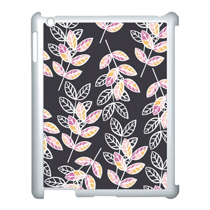 Winter Beautiful Foliage  Apple iPad 3/4 Case (White)
