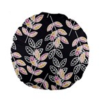 Winter Beautiful Foliage  Standard 15  Premium Round Cushions Front