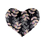 Winter Beautiful Foliage  Standard 16  Premium Heart Shape Cushions Back