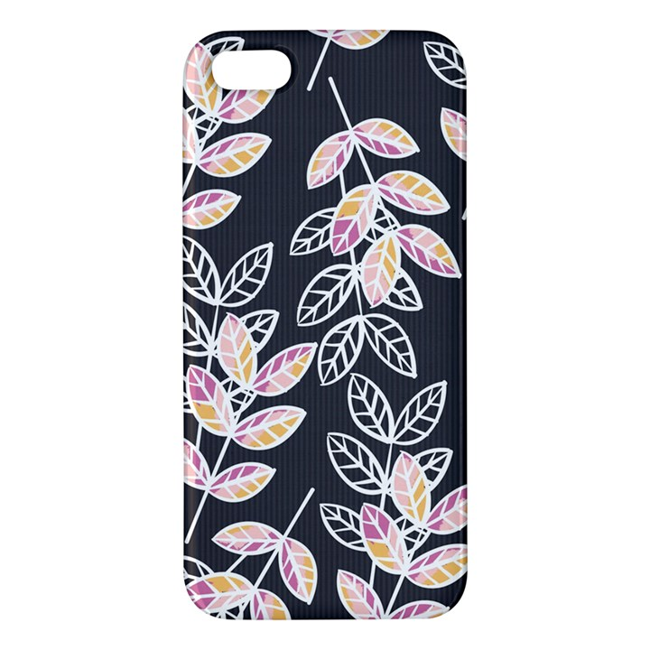 Winter Beautiful Foliage  iPhone 5S/ SE Premium Hardshell Case
