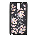 Winter Beautiful Foliage  Samsung Galaxy Note 3 N9005 Case (Black) Front