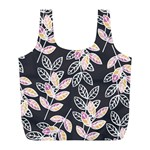 Winter Beautiful Foliage  Full Print Recycle Bags (L)  Back