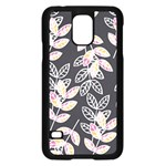 Winter Beautiful Foliage  Samsung Galaxy S5 Case (Black) Front