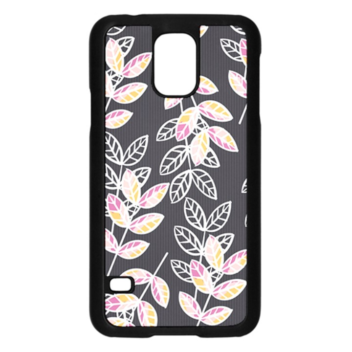 Winter Beautiful Foliage  Samsung Galaxy S5 Case (Black)