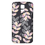 Winter Beautiful Foliage  Samsung Galaxy S5 Back Case (White) Front