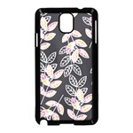 Winter Beautiful Foliage  Samsung Galaxy Note 3 Neo Hardshell Case (Black) Front