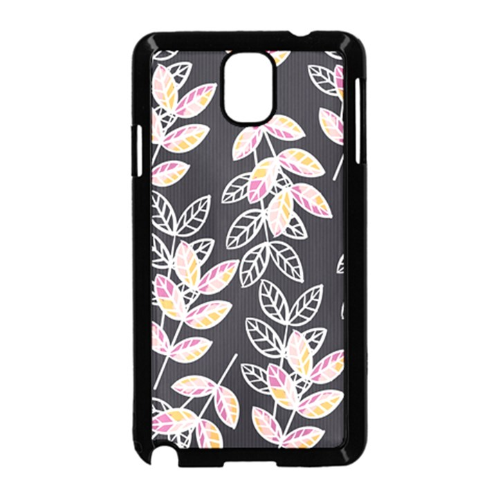 Winter Beautiful Foliage  Samsung Galaxy Note 3 Neo Hardshell Case (Black)